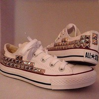 Shop-Savage  Low Top Studded Converse