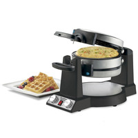 Simultaneous Omelet And Waffle Maker