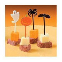 72 Plastic Halloween Picks: Amazon.com: Grocery & Gourmet Food