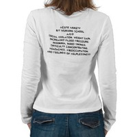 Student Nurse Long Sleeve Shirts from Zazzle.com