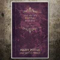 Vintage Harry Potter Movie Poster  The Half by balancedpersonality