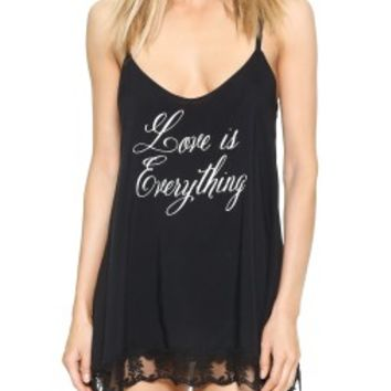 Wildfox Love Is Everything Chemise