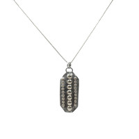 Dog Tag Necklace - One Size / Mixed Metal