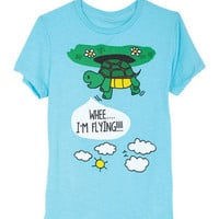 Flying Turtle Tee