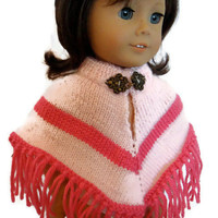 Poncho Pink American Girl Doll