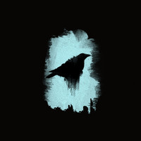 Raven Art Print by TwO Owls