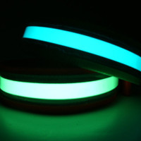 Glow in the Dark Reflective Dog Collar  8&quot;- 12&quot;  Small