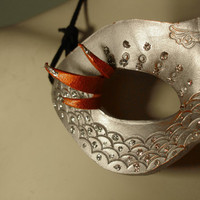 Anastasia Princess Leather Mask by MisfitLeather on Etsy