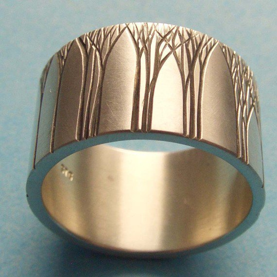 Kanuka Grove Ring by ashhilton on Etsy