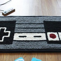 NES  Nintendo Controller Rug