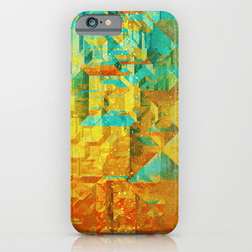 Golden iPhone & iPod Case by SensualPatterns