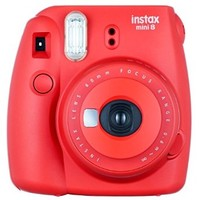 Fuji Instax Mini 8 Red Fujifilm Instax Mini 8 Camera Raspberry