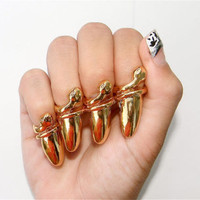 Vintage Jaw Dropping head turning Fingernail by PoniesLoveFashion