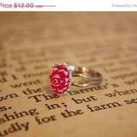 ON SALE Beauty and the Beast Ring by spacepearls on Etsy