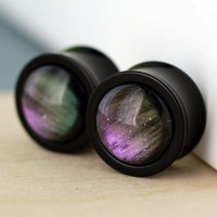 Handmade Gifts | Independent Design | Vintage Goods Northern Lights Plug/Gauges - Dark Side of Style