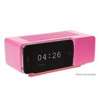 Alarm Dock for iPhone or iPod by Areaware in Pink - Pop! Gift Boutique