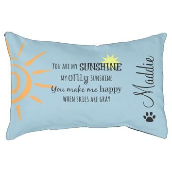 You are My Sunshine with Dog Name