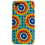 Seaside Blue Yellow flowers iPhone 4 and 4s Plastic iPhone Case - Cover - iPhone Accessory - custom iphone case