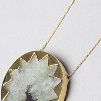 The Sunburst Pendant Necklace