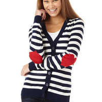 Varsity Stripe Cardigan