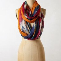 Aurora Infinity Scarf by Anthropologie Orange One Size Scarves