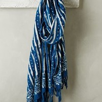 Acid Dip-Dye Scarf by Anthropologie