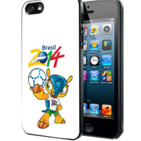 fifa world cup 2014 mascot Samsung Galaxy S3 S4 S5 Note 3 , iPhone 4 5 5c 6 Plus , iPod 4 5 case, HtC One M7 M8