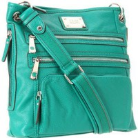 Tyler Rodan Kingston Cross Body,Pine Green,One Size: Amazon.com: Clothing