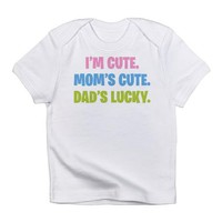 Dad&#x27;s Lucky Infant T-Shirt on CafePress.com