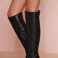 Jeffrey Campbell Devolle Leather Boot