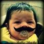 Mustache Pacifier - Baby Mustache - The Wise Guy