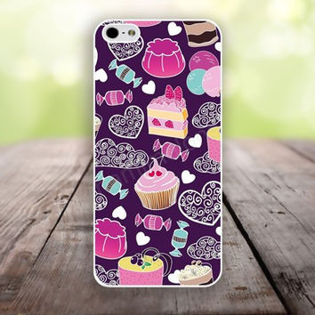iPhone 5S case colorful cartoon Candy and cake iphone 6 plus,Feather IPhone 4,4s case,color IPhone 6,vivid IPhone 5c,IPhone 5 case Waterproof 782