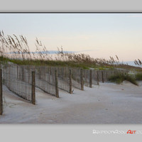 Beach Art Print, Sand Dunes Photography, Beach Decor, Sunrise Photo, St. Augustine Photography