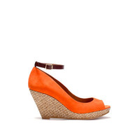 RAFFIA WEDGE PLATFORMS - Wedges - Shoes - Collection - Woman - ZARA ZARA_XA