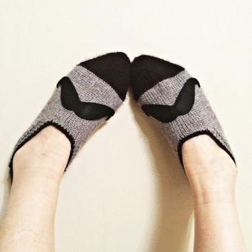 Valentines Day, Love, mustache , slippers, gray , gray slippers, unisex slippers, mens slippers, home shoes, christmas