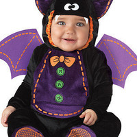 Black Baby Bat Cute Animal Infant Jumpsuit Toddler Kids Costume S-L