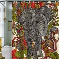 DENY Designs Home Accessories | Valentina Ramos Bo The Elephant Shower Curtain