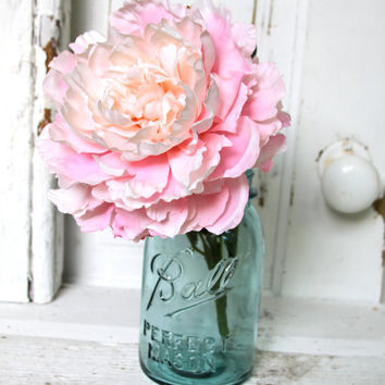 Vintage Blue Ball Quart Mason Jar by heathernn1 on Etsy