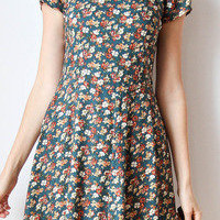 tea and tulips boutique - one of a kind vintage. — frilly flowers dress