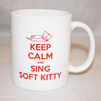 Big Bang Theory Inspired Soft Kitty Mug