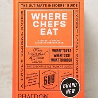 Where Chefs Eat by Anthropologie Orange One Size Gifts