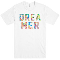 dreamer psychedelic patterns t-shirt