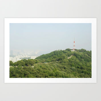 Seoul Art Print by Anstey