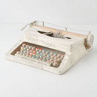 Vintage Paper Typewriter