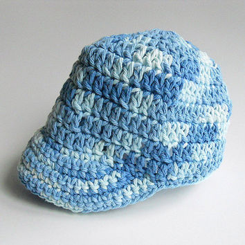 Free Crochet Pattern Newborn Baseball Cap : CROCHET NEWBORN BASEBALL CAP ? CROCHET PATTERNS