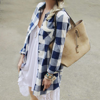 The Boyfriend Shirt Dress