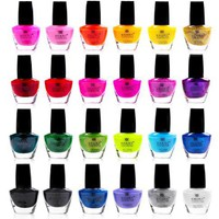 Shany Cosmetics The Cosmopolitan Nail Polish Set (24 Colors Premium Quality and Quick Dry), 40 Fluid...