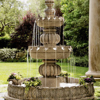"Three-Tier ""Castle"" Fountain - Horchow"
