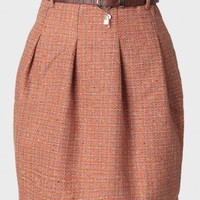 awaiting solstice tweed skirt at ShopRuche.com