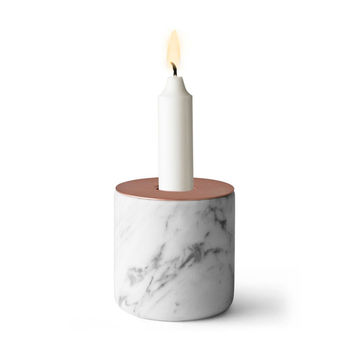 Marble Block Candeholder